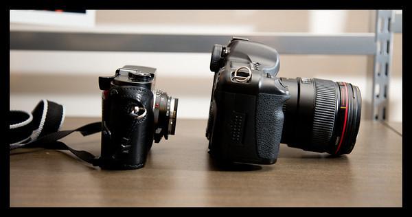 leica, m8, canon, 5D, camera