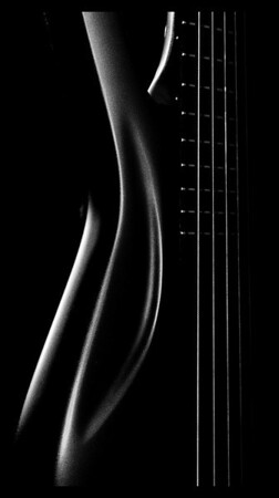 guitar portrait