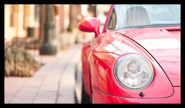 Leica Voigtlander 75mm color heliar 911 Porsche