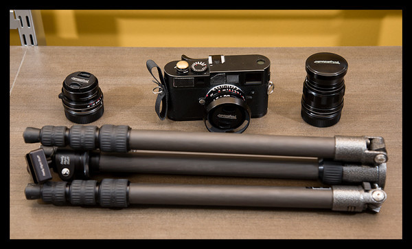 Really Right Stuff BH-25 with Gitzo Traveler Tripod and Leica M8 M9 Review